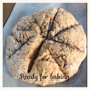 Carrot & Walnut soda bread recipe