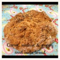 Carrot, walnut Soda bread recipe