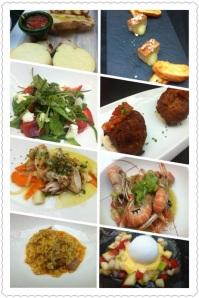 Fine dining in Spain.