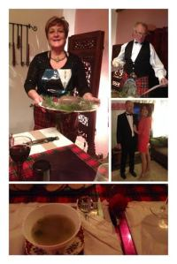 Burns night celebrations.