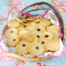 Melting Moments home-made biscuits.