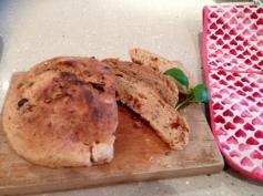 Sun-dried tomato and seed bread recipe