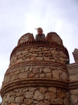 I'm the queen of the castle.