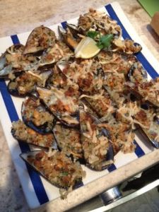 Stuffed Mussel recipe