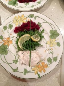 Smoked mackeral and horseradish pate recipe.