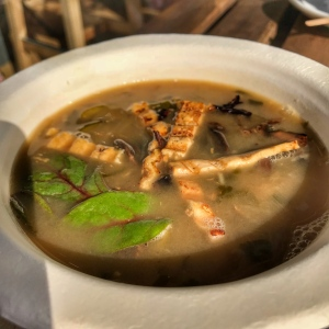 Thai Soup with Tofu