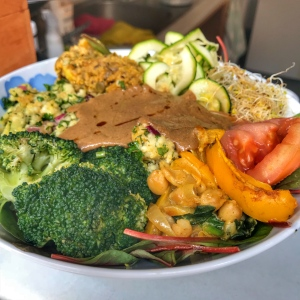 Buddha Bowl Vegan and Raw